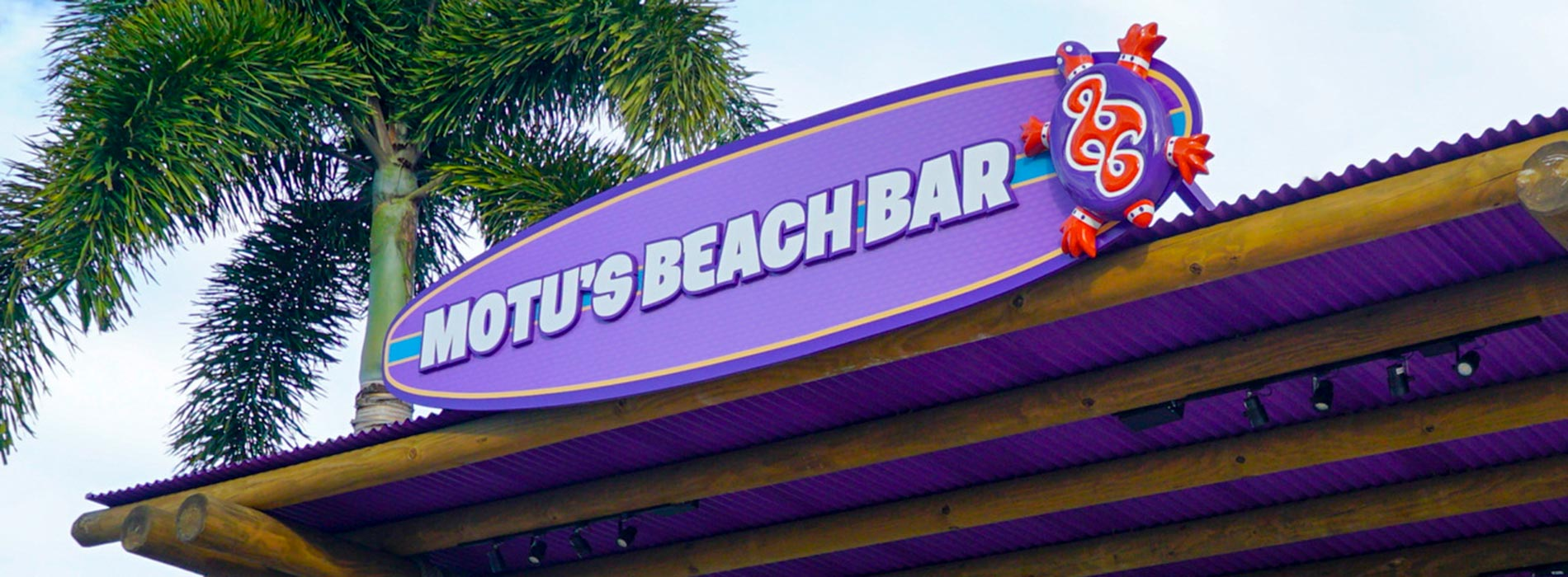 Motus Beach Bar at Aquatica Orlando