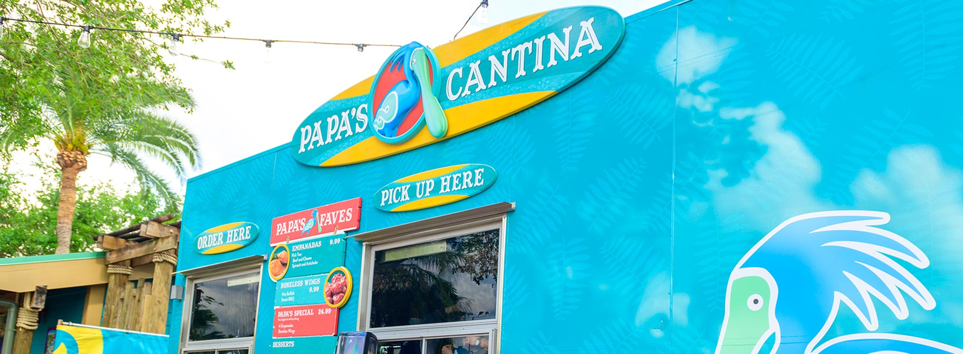 Papas Cantina at Aquatica Orlando
