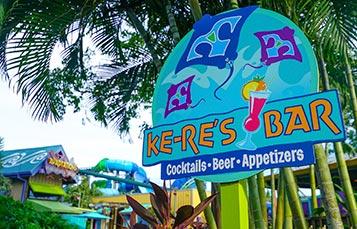 KeRes Bar at Aquatica Orlando