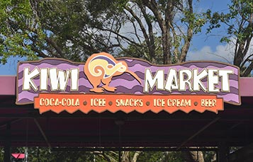 Kiwi Market at Aquatica Orlando