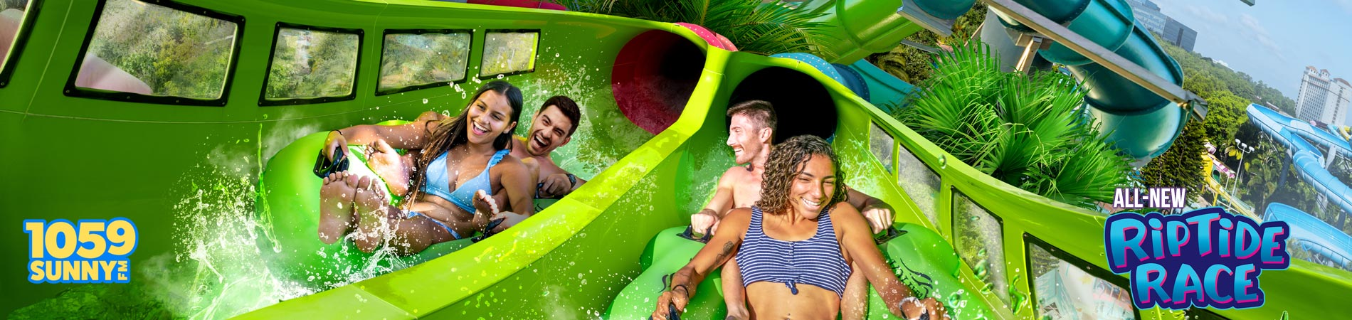 End of Summer Party with Sunny FM at Aquatica Orlando
