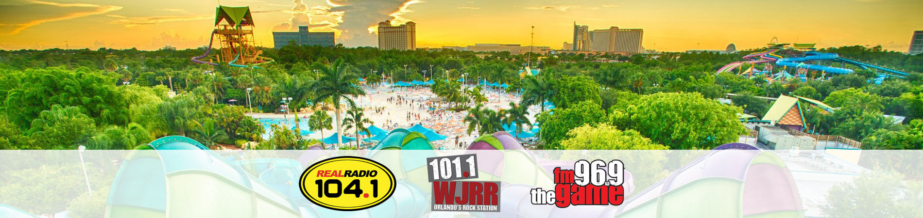 Rock on the Water with iHeart Radio at Aquatica Orlando