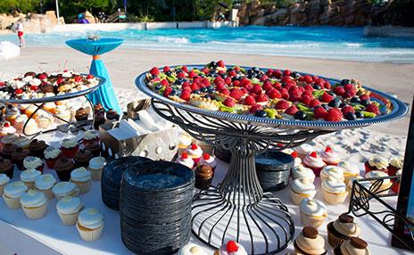 Aquatica Orlando's Special Event Catering