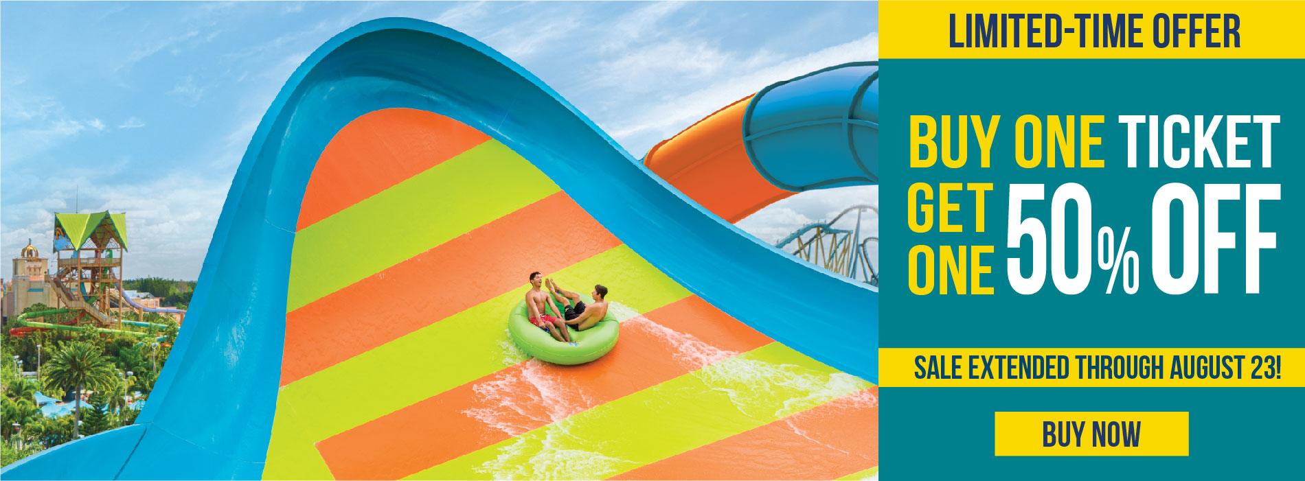 Aquatica Orlando End of Summer Sale