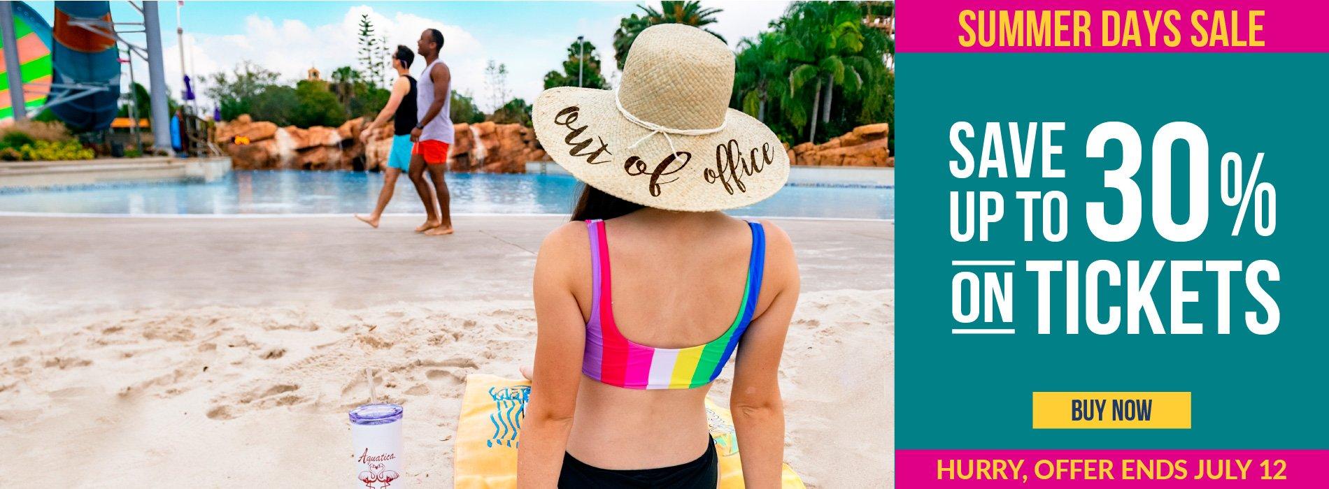 Aquatica Orlando Summer Days Sale