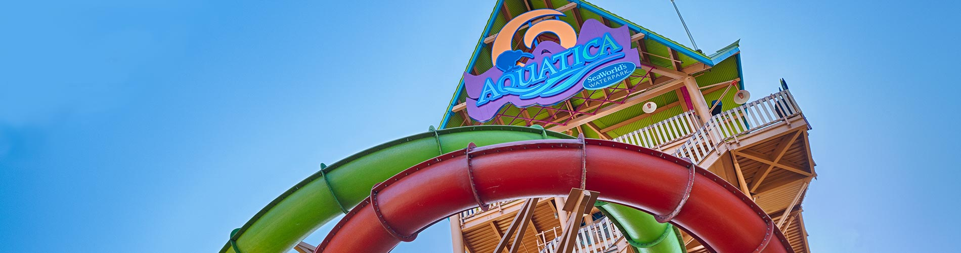 Ihus Breakaway Falls at Aquatica Orlando