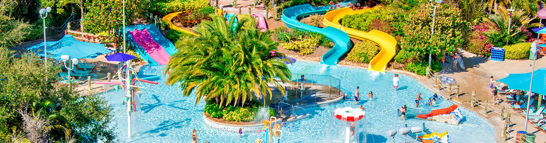 Rides and Slides at Aquatica Orlando Water Park