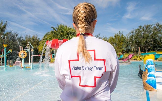Aquatica Orlando Water Safety Team
