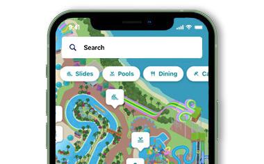 Aquatica Orlando Mobile App Map
