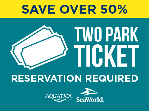 Aquatica Orlando Two Park Ticket Fall Savings