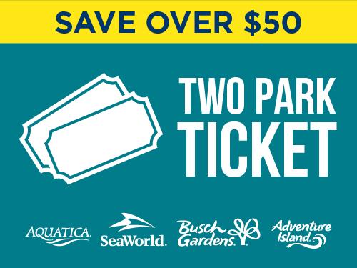 Aquatica Orlando Two Park Ticket