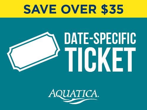 Aquatica Orlando Date Specific Ticket