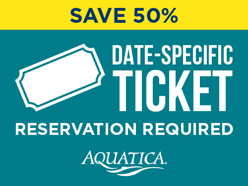 Aquatica Orlando Fall Savings Single Day Ticket