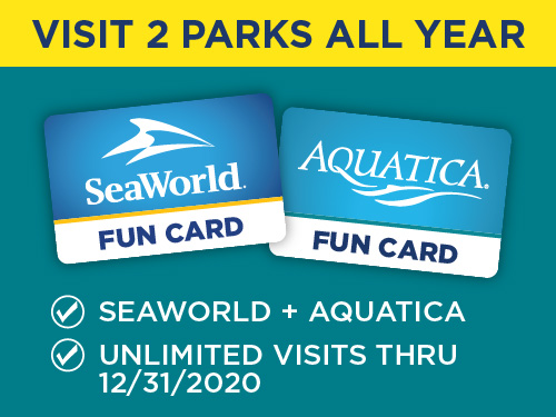 Aquatica Orlando Fun Card