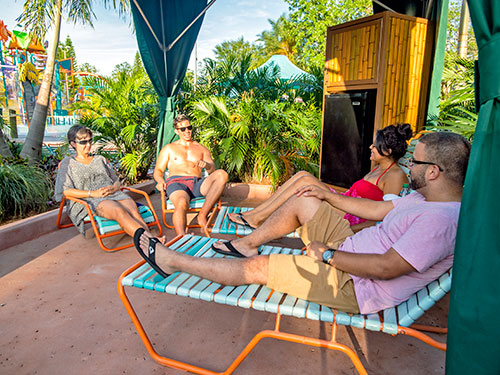 Walkabout Waters Cabanas at Aquatica Orlando