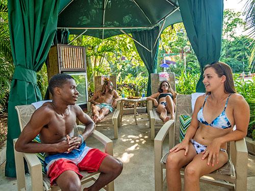 Reserve a Premium Cabanas at Aquatica Orlando
