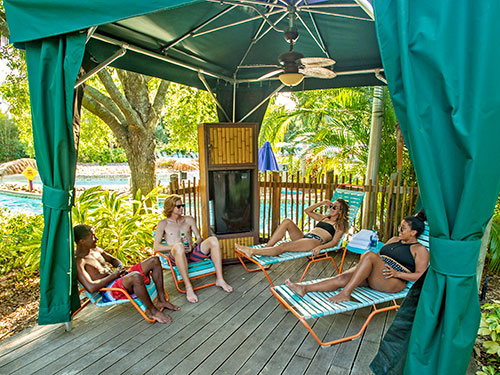 Roas Rapids River View Cabanas