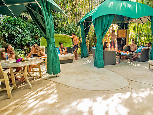 Ultimate Cabanas at Aquatica Orlando