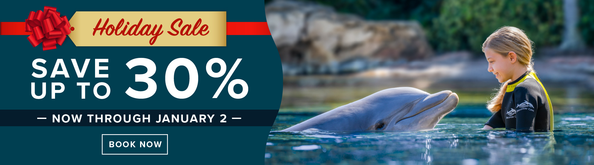 Discovery Cove Save up to 30 Percent