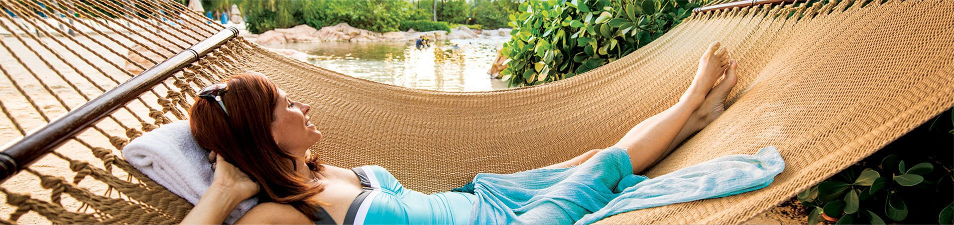 Enjoy hours of relaxation at Discovery Cove.