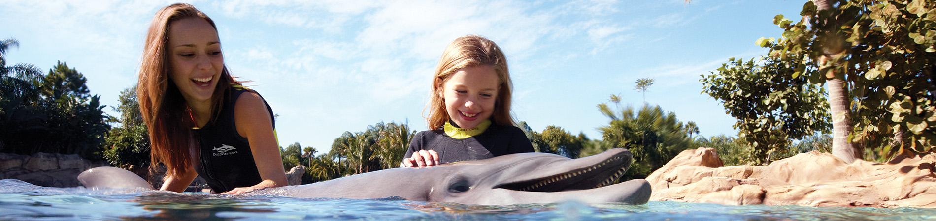 Accessibility at Discovery Cove Orlando