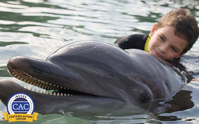 Discovery Cove is a Certified Autism Center