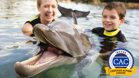 Discovery Cove Orlando is a Certified Autism Center