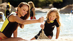 Explore Discovery Cove with your littlest adventurers.