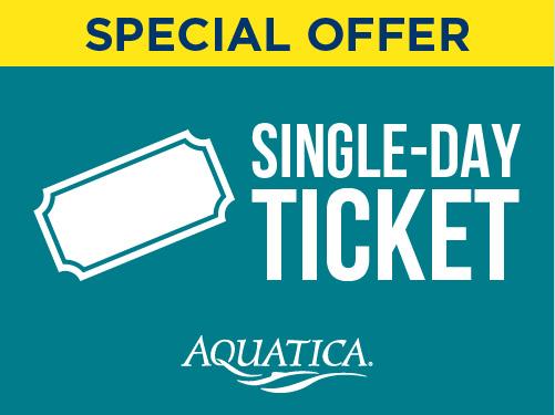 Aquatica Orlando Single Day Ticket