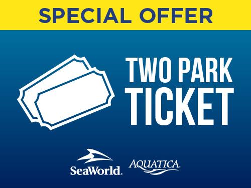 SeaWorld and Aquatica Orlando Two Park Ticket