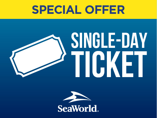SeaWorld Orlando Single Day Ticket