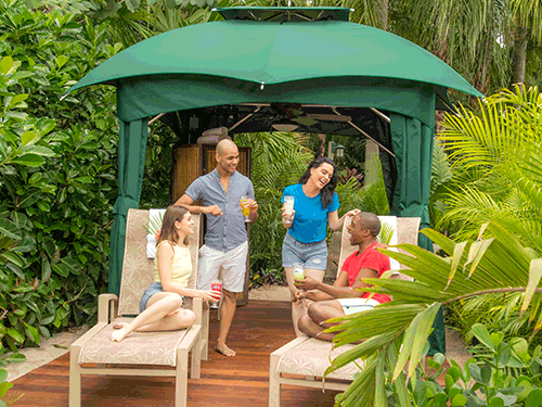 Reserve a Private Cabana at Discovery Cove Orlando