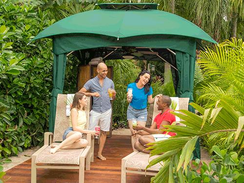 Reserve a Private Cabana at Discovery Cove Orlando