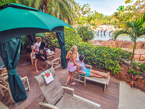 Reserve a VIP Cabana at Discovery Cove Orlando