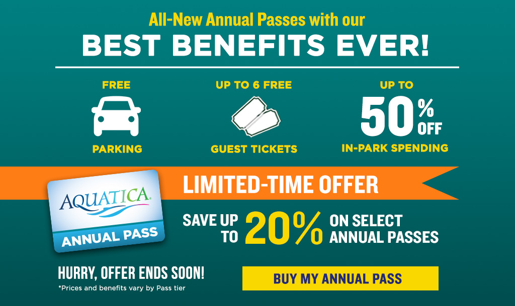 Limited-Time Offer: Save up to 20% on select annual passes!