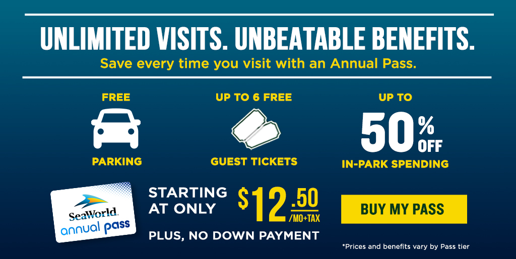 SeaWorld Orlando Limited Time Offer Save $65 on Passes