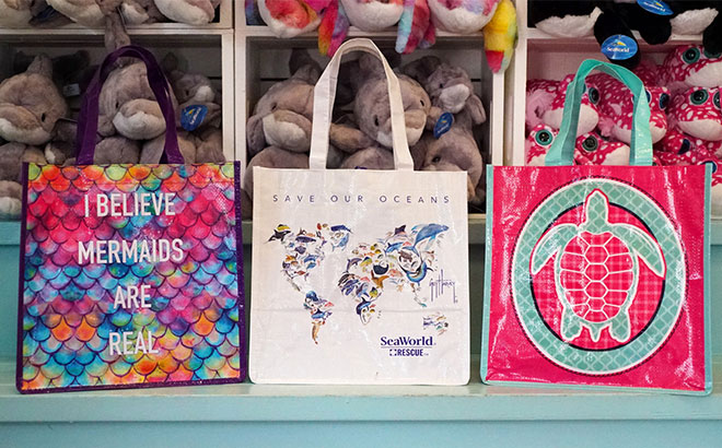SeaWorld has eliminated single-use plastic bags in all of the parks.