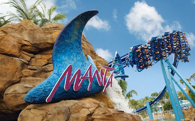 Experience Manta at SeaWorld Orlando
