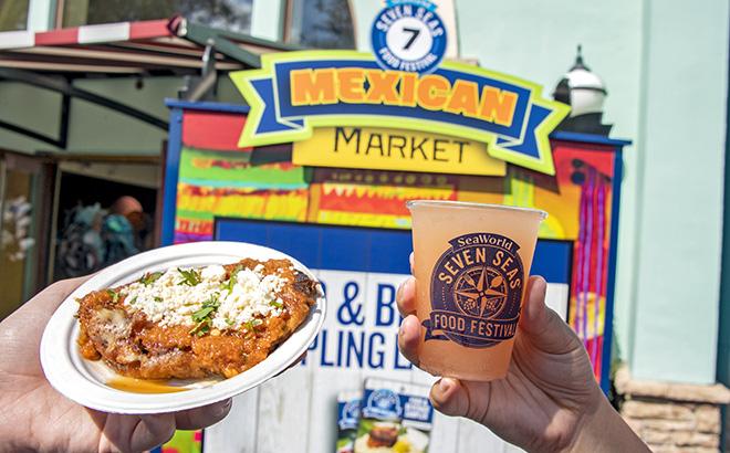 Mexican Market at Seven Seas Food Festival