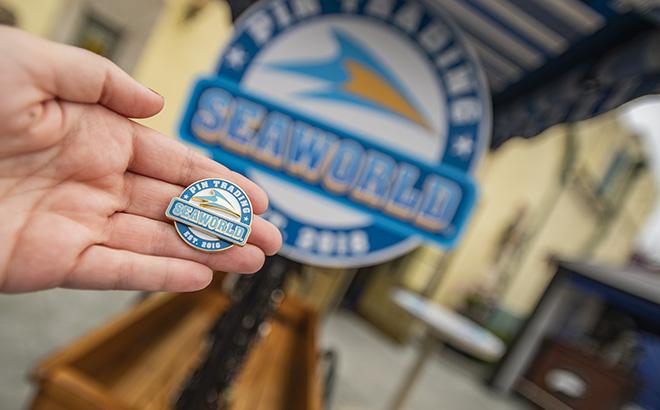 Pin Trading at SeaWorld Orlando