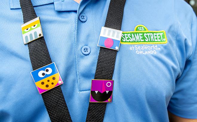 Sesame Street Pins at SeaWorld Orlando
