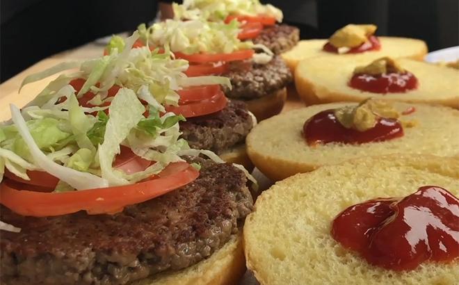 Impossible Burgers at SeaWorld
