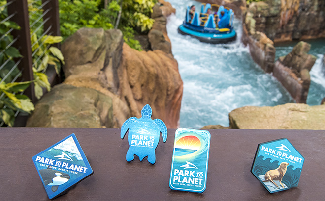 Earth Day Pins available at SeaWorld Orlando