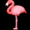 facebook emoji flamingo