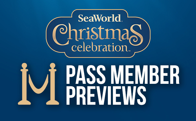Pass Member Previews at SeaWorld's Christmas Celebration