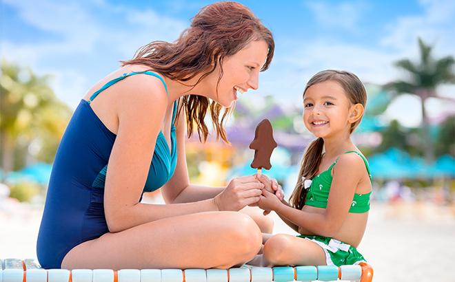 Beach Ice Cream at Aquatica Orlando