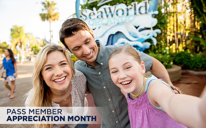Pass Member Appreciation Month at SeaWorld