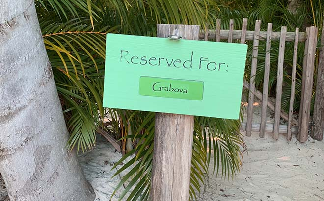 Private cabana at Discovery Cove Orlando