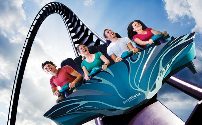 Mako Roller Coaster at SeaWorld Orlando