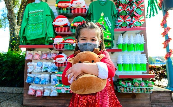 Purchase a Christmas Bulb Lanyard during SeaWorld Orlando Christmas Celebration
